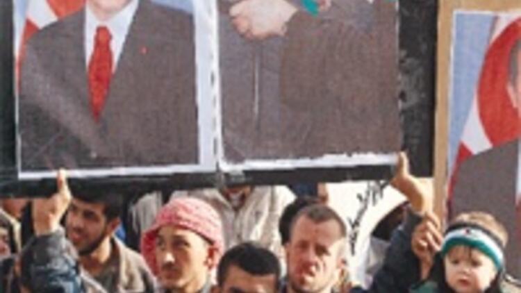 Gazze, Erdoğan'a destek için yürüdü