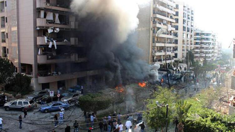 İran'ın Beyrut Büyükelçiliği'ne saldırı