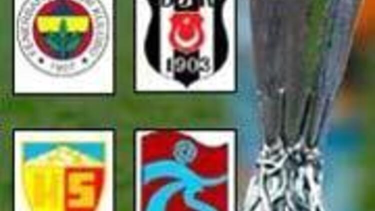 UEFA Kupası'ndaki rakiplerden ikisi kolay, ikisi zor