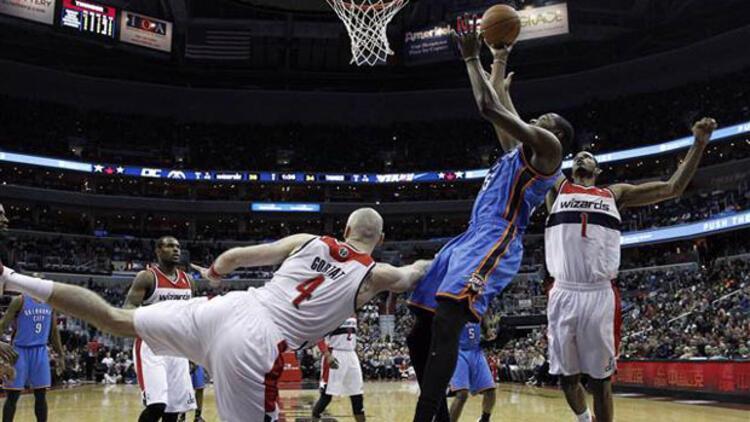 Oklahoma City Thunder'a Washington Wizards freni