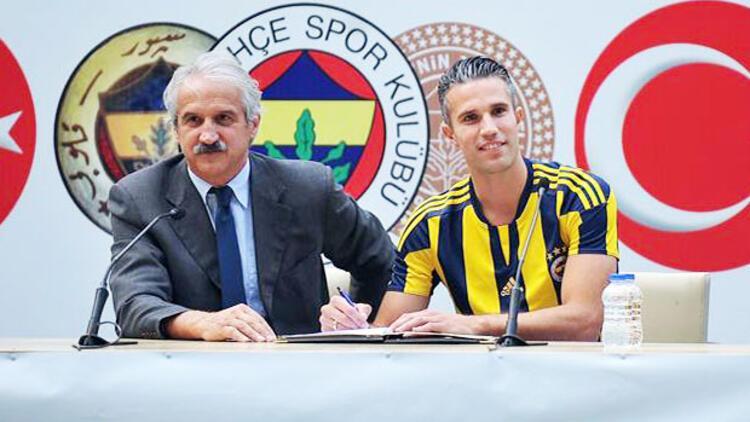 Fenerbahçe Robin Van Persie ile sözleşme imzaladı - Spor Haberi