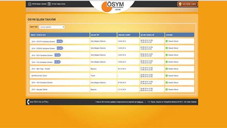 YDS giriş  belgesi - Sınav giriş belgesi nasıl çıkartılır