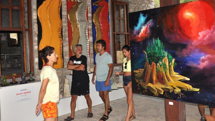 Datça'da açıkhava heykel müzesi