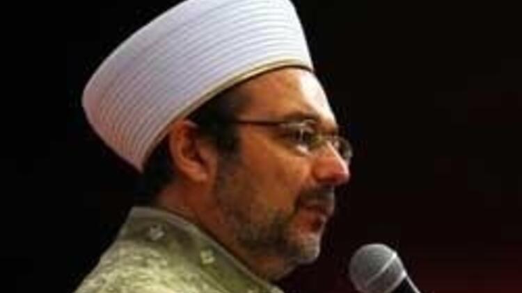 Mehmet Görmez: Kadına karşı şiddetle uğraşacağınıza...