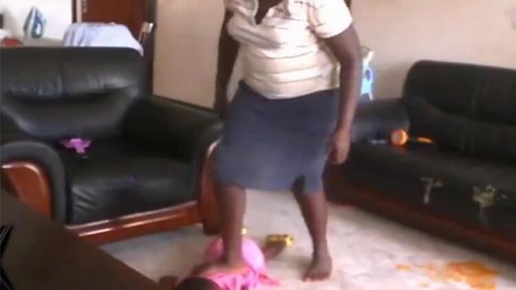 Ugandalı dadı, 18 aylık bebeği dövdüğünü itiraf etti