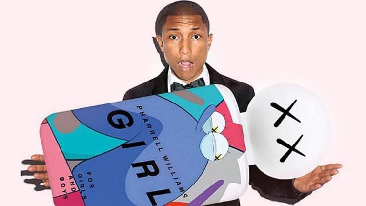 Altın yumurtlayan Pharrell'ı kanlı canlı izleyeceğiz