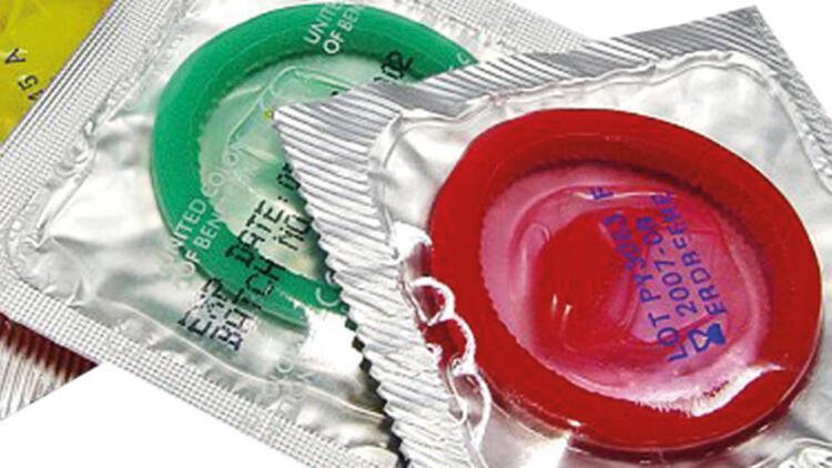 İki devin son ürünü kondom