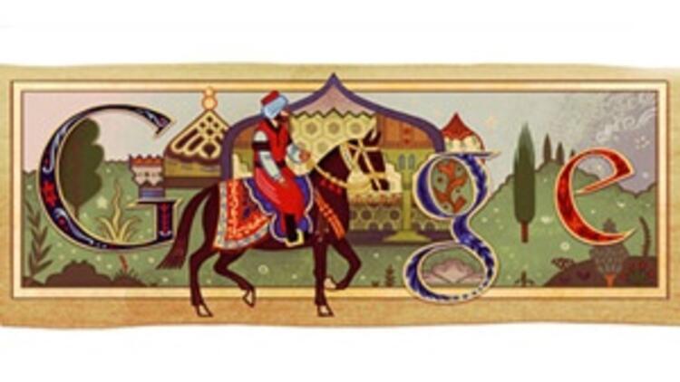 Google'dan Evliya Çelebi logosu