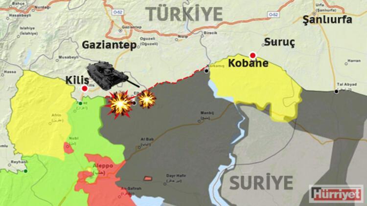 Suriye tarafından Mehmetçik'e ateş açıldı: 1 şehit, 2 asker yaralı