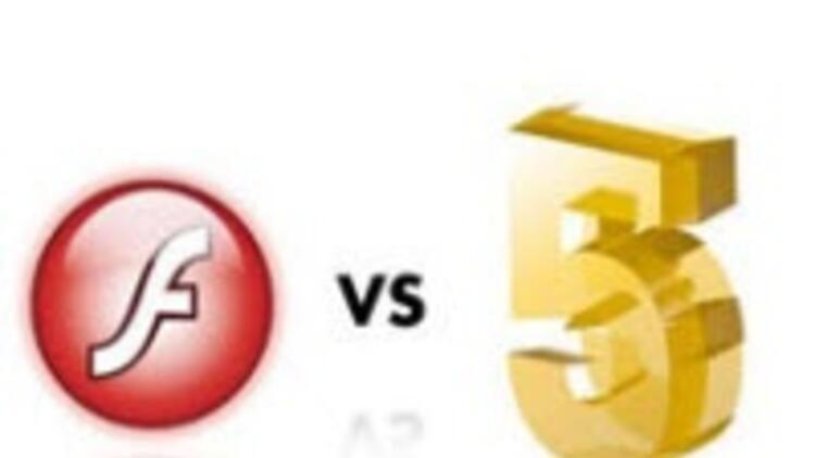 HTML5 Flash'a karşı