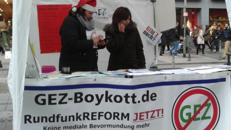 ARD ve ZDF izlemeyen vergi ödemeyecek