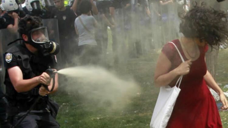 Gezi protestolarındaki sprey İtalya'da