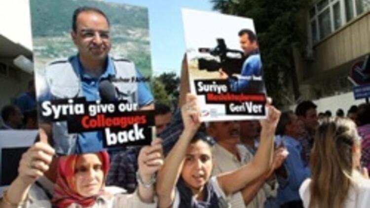 Tutuklu gazeteciler için Esad'a mektup