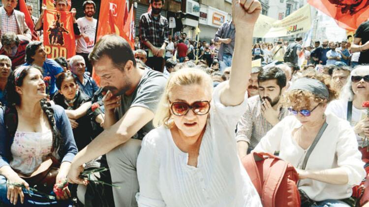 Taksim'de Gezi ablukası