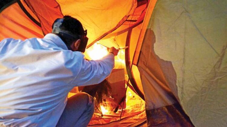 Gezi Parkı'ndaki çadırlar kendiliğinden yanmış