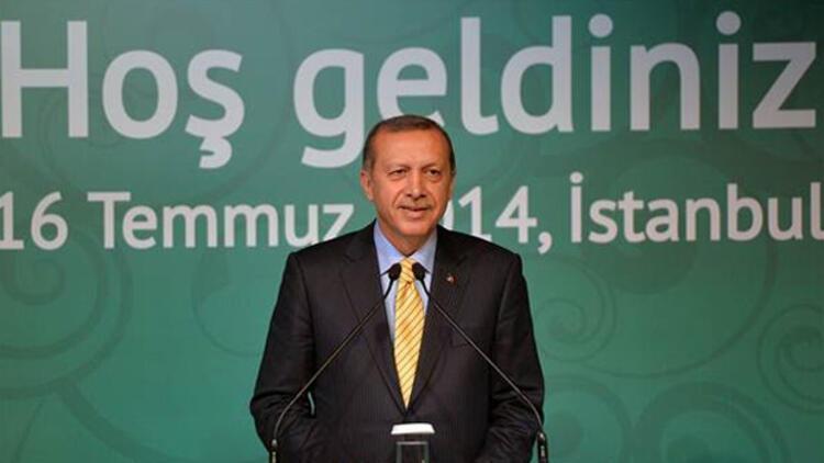 Başbakan Tayyip Erdoğan Bülent Ersoy ile ayaküstü sohbet etti