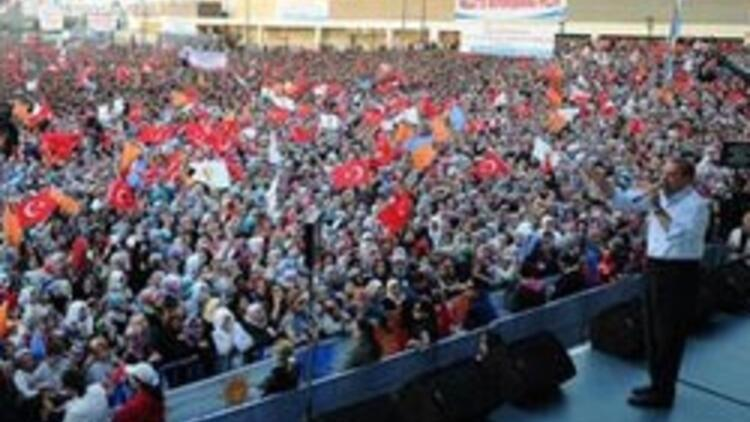 AK Parti Ankara mitingi hazırlıkları