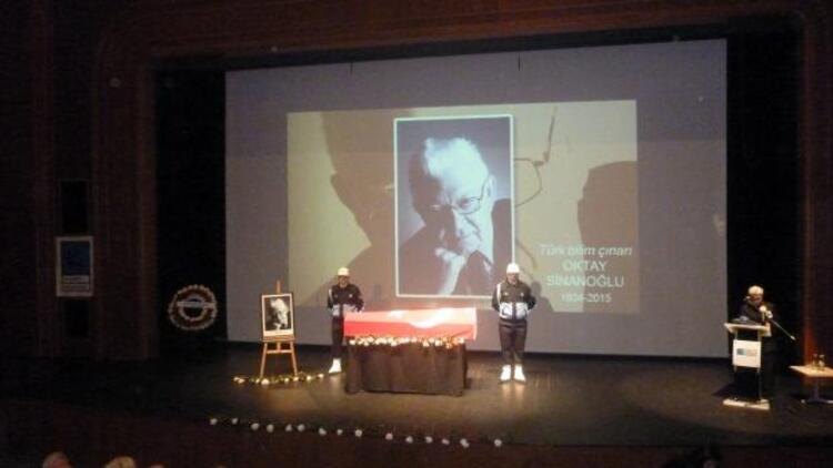 Oktay Sinanoğlu son yolculuğuna uğurlandı