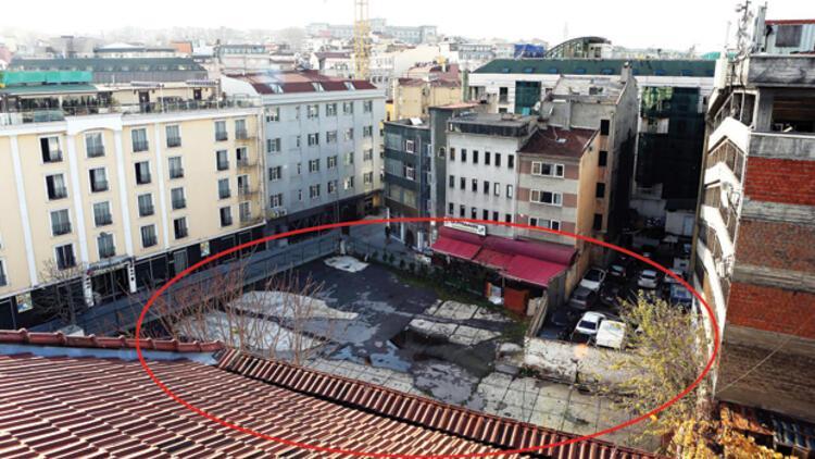 Altı Marmaray üstü otel
