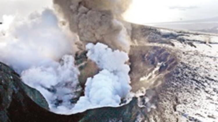 İzlanda'daki yanardağın lavları boruyla Londra'ya gelecek, evleri ısıtacak