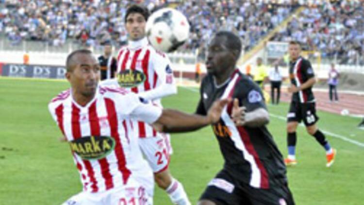 Gol düellosu Sivassporun