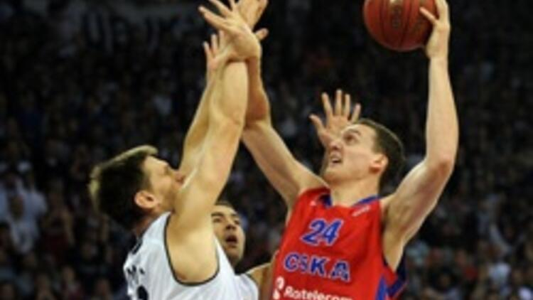 Beşiktaş 58-85 CSKA Moskova