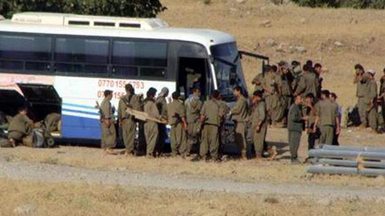 PKKlılar otobüslerle IŞİDin elindeki Sincara gidiyor