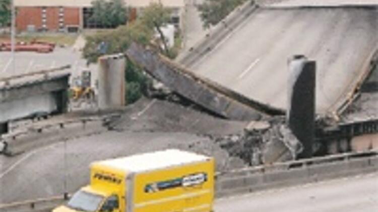 Deprem değil tanker kazası