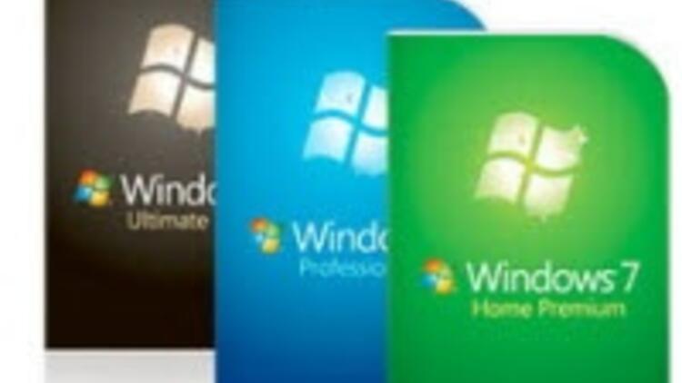 Yarı fiyatına Windows 7