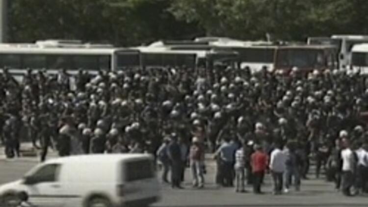 Polis çekildi, Gezi Parkı'na giriş serbest