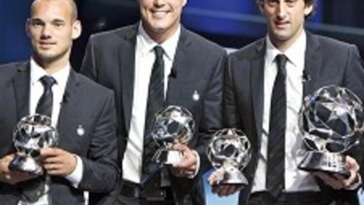 Avrupa'da yılın futbolcuları Inter'den