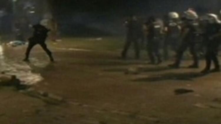 Gezi Parkına ikinci şafak baskını