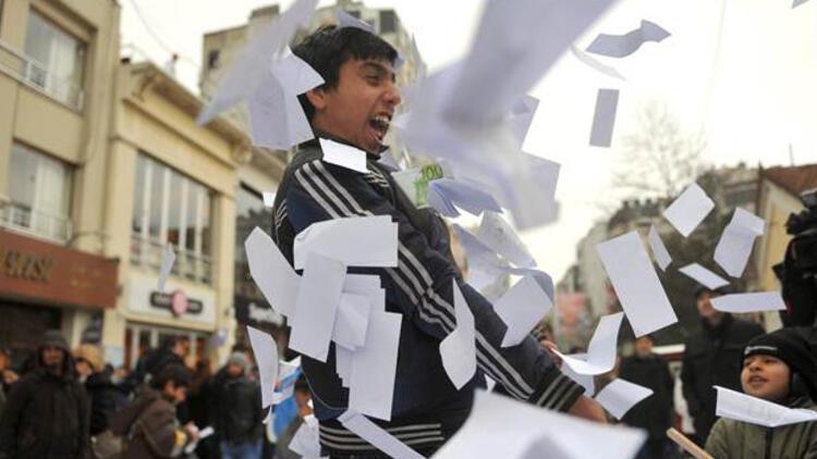CHP'den yolsuzluk protestosu