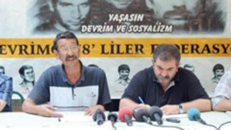 Devrimci 78'lilerden Erdoğan'a eleştiri