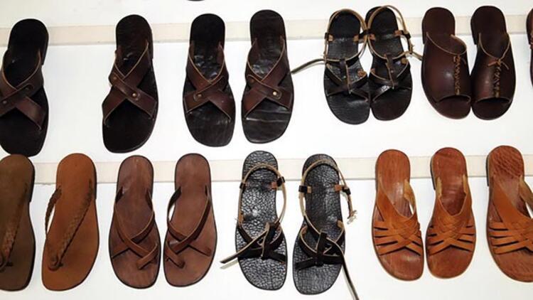 Prensesin sandaletleri Bodrum'dan