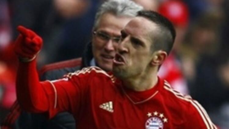 Ribery attı, Schalke direnemedi