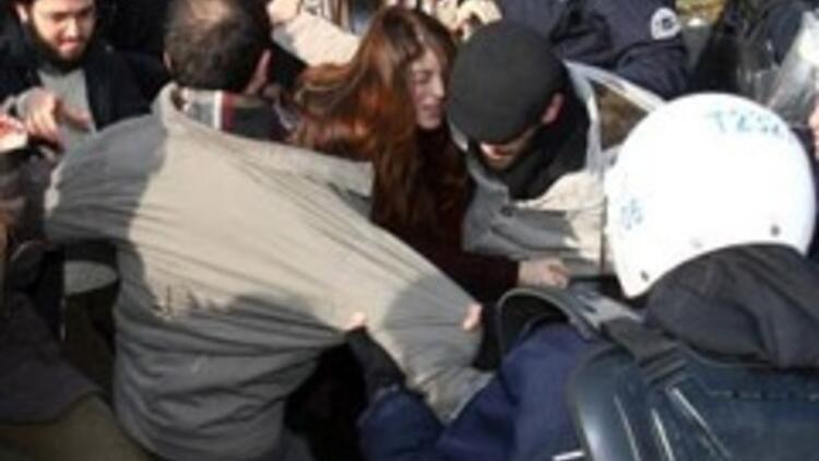 Başbakan'a ODTÜ'de protesto: 21 gözaltı