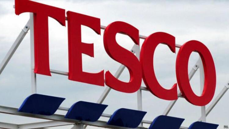 İngiliz perakende devi Tesco'dan rekor zarar