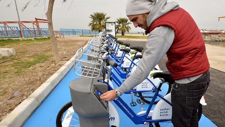 İzmir'in yeni bisikletleri yola çıkacak