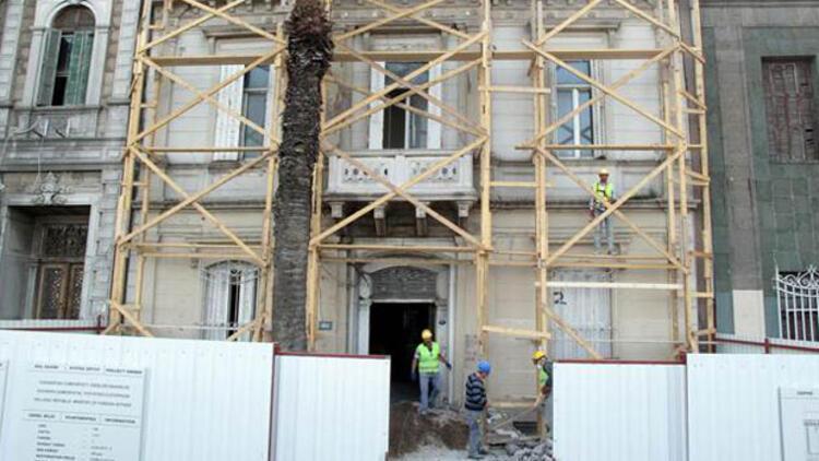 Çipras hükümeti kaynak sağladı, tarihi konsolosluk binası restore ediliyor