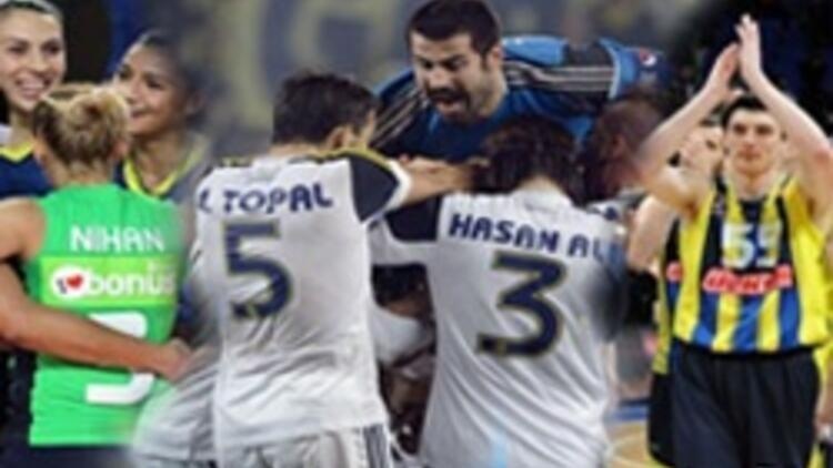 Fenerbahçe'nin Avrupa'da zafer haftası