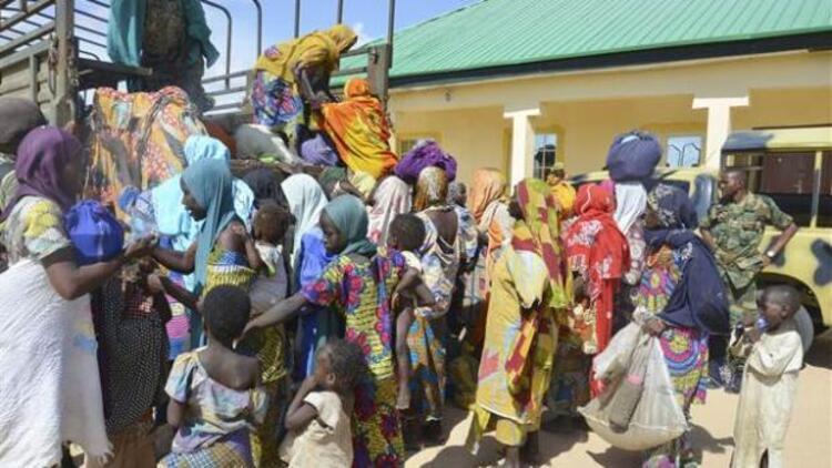 Nijerya ordusu çoğu kadın 76 kişiyi Boko Haram'dan kurtardı