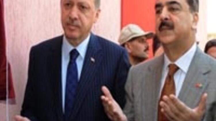 Erdoğan'a devlet nişanı verildi