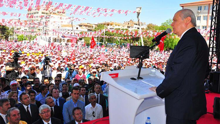 """Bahçeli: """"İzmir'e gavur diyen alçaklar..."""""""