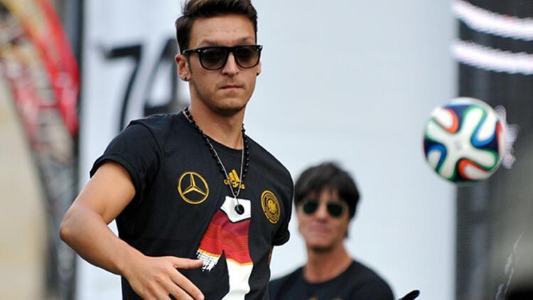 Mesut Özil altıncı sırada