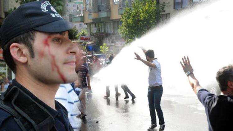 Kahramanmaraş'ta 'Suriyelileri istemiyoruz' yürüyüşünde olaylar çıktı