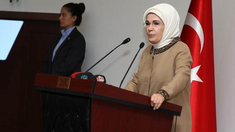 Emine Erdoğan: Kadın meselesinde üniversitelerden beklentimiz büyük