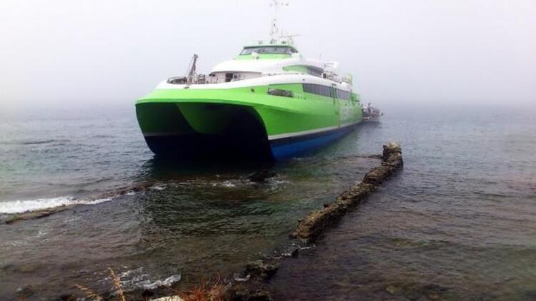 Ege'de feribot faciası ucuz atlatıldı