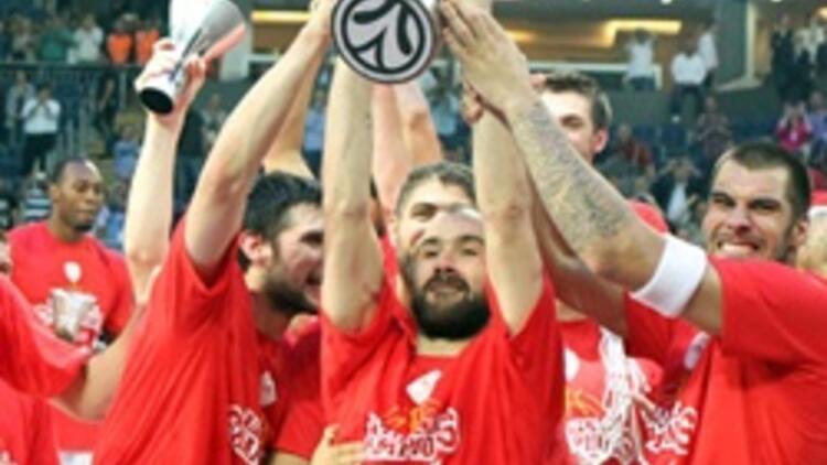 Euroleague'de şampiyon Olimpiakos