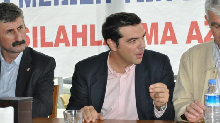 Dünyanın konuştuğu Yunan lider Çipras, Babaeskili çıktı